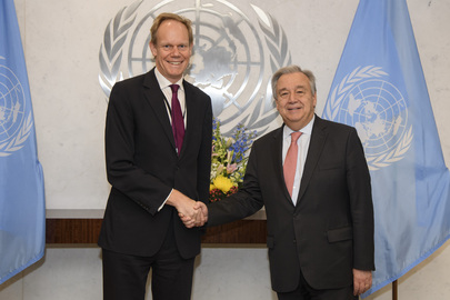 Farewell Call by Permanent Representative of UK