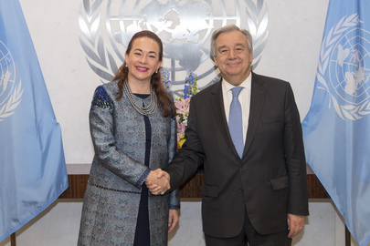 Secretary-General Meets Minister for Foreign Affairs and Human Mobility of Ecuador