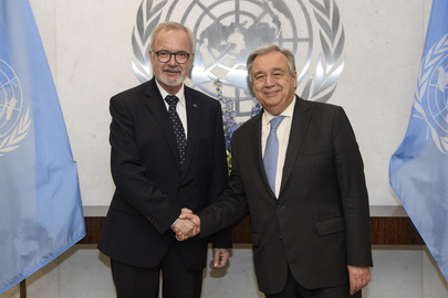 Secretary-General Meets President of European Investment Bank