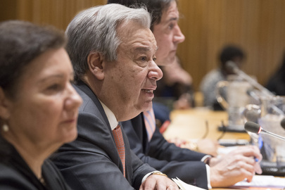 Secretary-General Briefs General Assembly on 2018 Priorities
