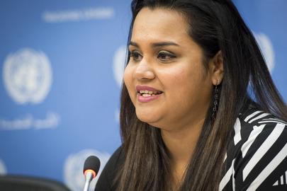 Secretary-General's Envoy on Youth Briefs Press