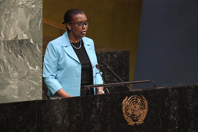 Permanent Representative of Rwanda Addresses General Assembly