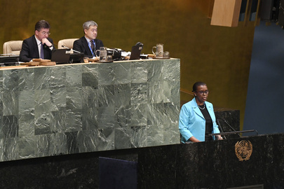 Permanent Representative of Rwanda Addresses General Assembly