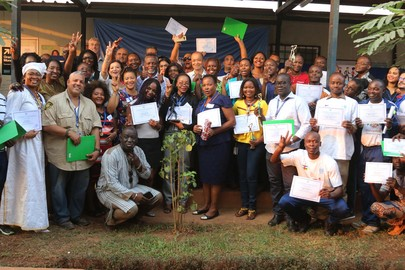 Closing Ceremony of Global Health Challenge Campaign in Bangui