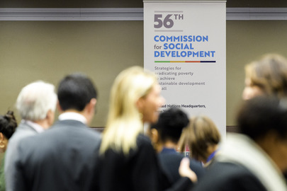 Commission for Social Development Opens Fifty-sixth Session