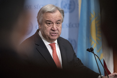 Secretary-General Addresses Press on Syria and Sexual Harrassment