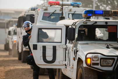 UNMIL Peacekeepers Prepare for Troop Withdrawal