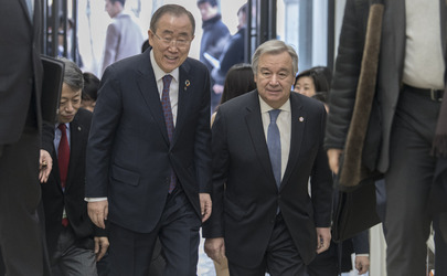Secretary-General Meets with Former Secretary-General Ban Ki-Moon