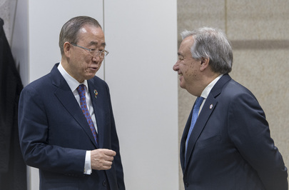 Secretary-General Meets with Former Secretary-General Ban Ki-Moon