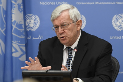 Head of UNSOS Guest at Noon Briefing