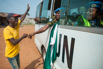 UNMIL Peacekeeping Troops Withdraw From Liberia