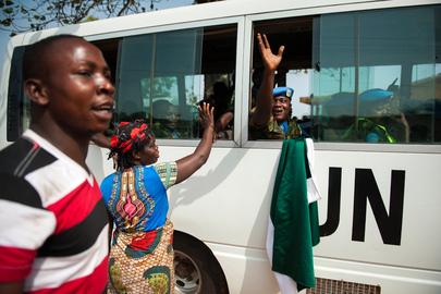 UNMIL Peacekeeping Troops Withdraw From Liberia