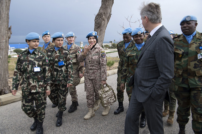 UN Peacekeeping Chief Visits Lebanon