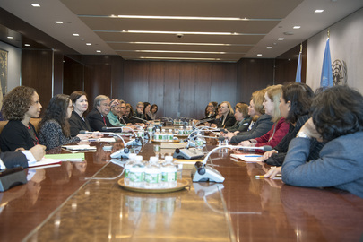 Secretary General meets with Female Heads and Deputy Heads of Mission