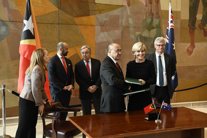 Signing Ceremony for Treaty on Maritime Boundaries between Timor-Leste and Australia