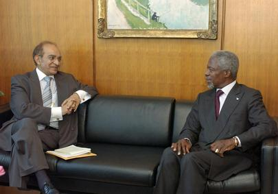 SECRETARY-GENERAL MEETS WITH DEPUTY DIRECTOR GENERAL FOR FOREIGN AFFAIRS OF SOUTH AFRICA