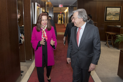 Secretary-General Meets Foreign Minister of Ecuador