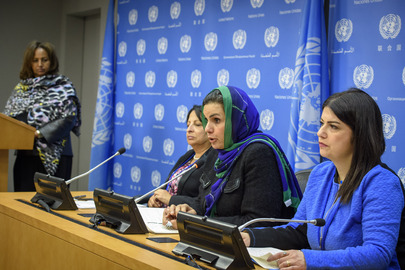 Press Conference on Arab Women's Experiences