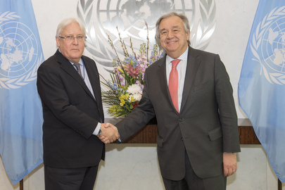 Secretary-General Meets Special Envoy for Yemen