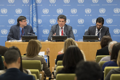 Security Council President Briefs Press on Programme of Work for April