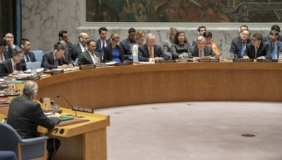Security Council Considers Threats to Peace and Security, Situation in the Middle East