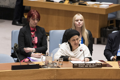 Security Council Meets on Women, Peace and Security