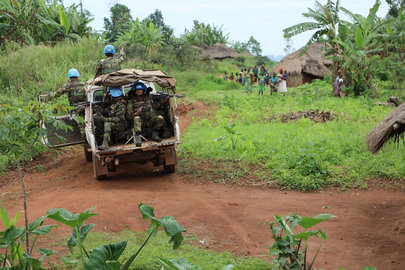 MONUSCO Peacekeepers on Patrol in Eastern DRC