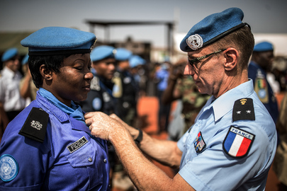 MONUSCO Holds Medal Parade for Bangladesh Formed Police Unit and UNPOL Officers