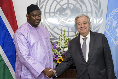 Secretary-General Meets President of Gambia