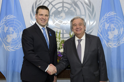 Secretary-General Meets Minister for Foreign Affairs of Estonia