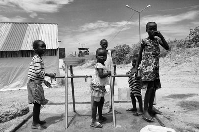 Protection of Civilians Site in Juba