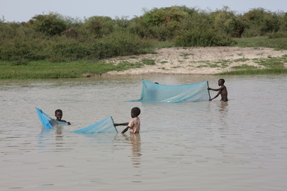 Start of Rainy Season Floods Bor, South Sudan