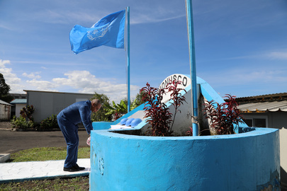 MONUSCO Commemorates International Day of Peacekeepers