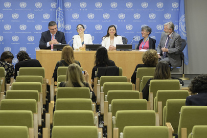 Press Briefing on Including Persons with Disabilities to Achieve Sustainable Development for All