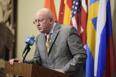Security Council President Briefs Press on Central African Region