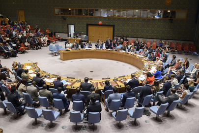 Security Council Considers Climate-Related Security Risks