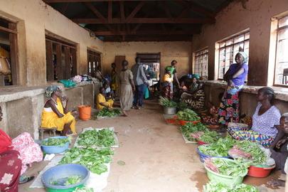 Market in Yambio, South Sudan