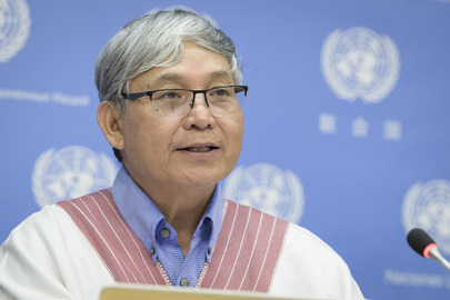 Press conference on International Day of World's Indigenous Peoples