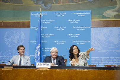 Press Conference by UN Special Envoy for Yemen