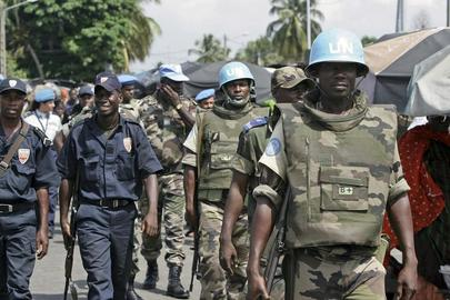 United Nations and Cote D'ivoire Government Forces Conduct Combined Patrol