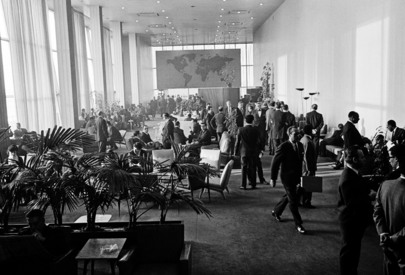 Delegates' Lounge at United Nations Headquarters