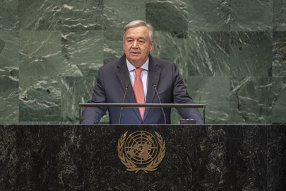 Secretary-General Addresses Opening of General Assembly's Seventy-third General Debate