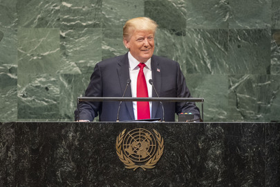 President of United States Addresses General Assembly