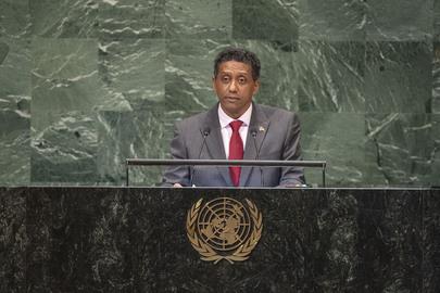 President of Seychelles Addresses General Assembly