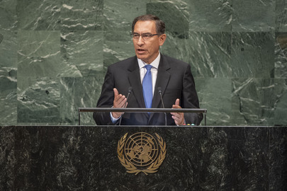 President of Peru Addresses General Assembly