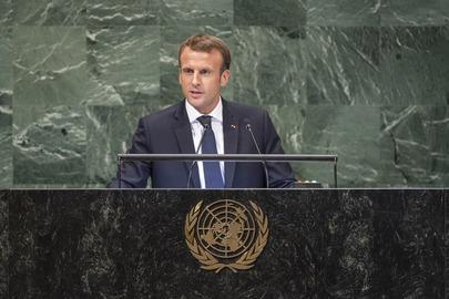 President of France Addresses General Assembly
