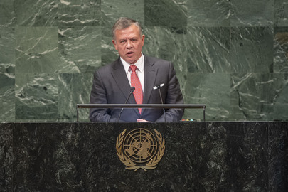 King of Jordan Addresses General Assembly