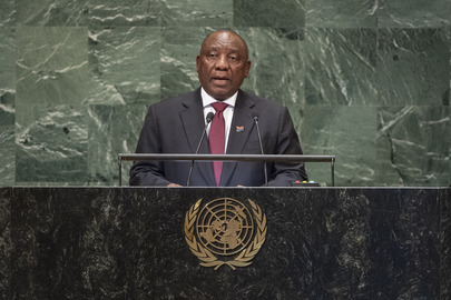 President of South Africa Addresses General Assembly