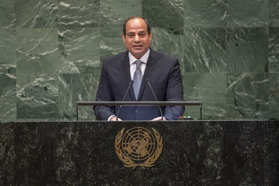 President of  President of the Arab Republic of Egypt Addresses General Assembly