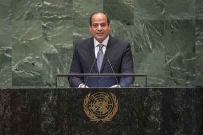 President of  President of the Arab Republic of Egypt Addresses General Assembly
